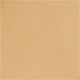 Faux Leather papier lichtbruin  350g/m2 breed 50 cm 1 meter
