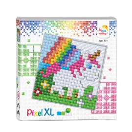 Pixelhobby Pixel  XL set baby eenhoorn 12 x 12 cm