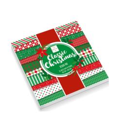 Make & Create Classic Christmas design pad 30 vellen 15 x 15 cm