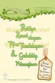 Leane Creatief Lea'bilities Kerst en Nieuwjaar dies (mallen) 45.6005