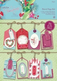 Docrafts Papermania at Christmas Parcel Tags/labels Kit PMA 157206