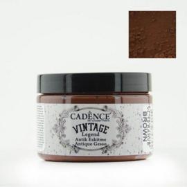Cadence Vintage legend antique gesso VL 12 brown pot 150 ml