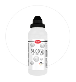 Viva Decor Blob paint (verf) Weiss (wit) fles 280 ml