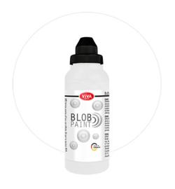 Viva Decor Blob paint (verf) Weiss (wit) fles 280 ml