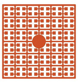 Pixelhobby matje 140 pixels nummer 251 oranje
