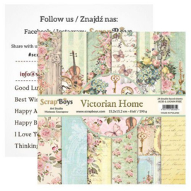 Art Studio ScrapBoys Victorian Home paperpad 15,2 x 15,2 cm