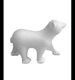Styropor (piepschuim) ijsbeer 23 x 8 x 17 cm