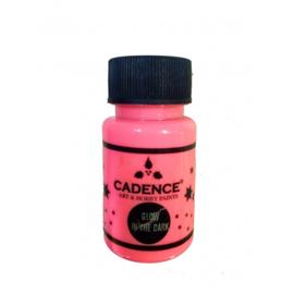 Cadence Art & Hobby paints Glow in the dark 579 pink 50 ml