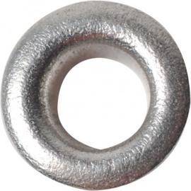 Fiskars eyelets 50 stuks zilverkleurig Ø 7,5 mm hoogte 4,8 mm