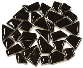 Flip keramische mini mix mozaïek fluweel zwart bakje à 65 gram
