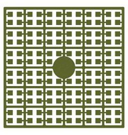 Pixelhobby matje 140 pixels nummer 258 olijfgroen