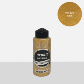 Cadence Hybrid metallic verf for multisurfaces HM-800 gold 120 ml