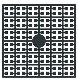 Pixelhobby matje 140 pixels nummer 135 antraciet zwart