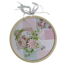 Joy!Crafts borduurring bamboe Ø 10 cm 6210/0001