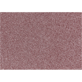 Opstrijkfolie glitter licht rood 1 vel A5 14,8 x 21 cm