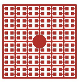 Pixelhobby matje 140 pixels nummer 155 helder rood