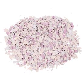 Creotime Terrazzo Flakes (vlokken) paars strooibus 90 gram