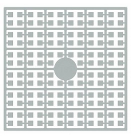 Pixelhobby matje 140 pixels nummer 185 schelpengrijs licht