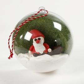 Made of Acrylic decoratie acryl (Kerst) ballen 10 stuks Ø 5 cm