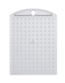 Pixelhobby medaillon plaatje transparant 3 x 4 cm