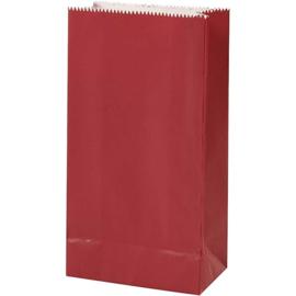 Vivi Gade Design papieren zakken Copenhagen rood 10 stuks 80 grams 17 x 9,5 x 5 cm