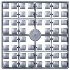 Pixelhobby matje XL 60 pixels zilver