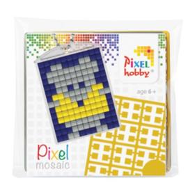 Pixelhobby Pixel mosaic medaillon startset muis sleutelhanger