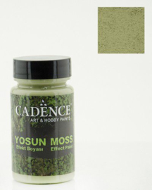 Cadence Yosun moss effect paint 3633 light green potje 90 ml