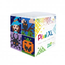 Pixelhobby XL mosaic kubussetje halloween 6,2 x 6,2 cm