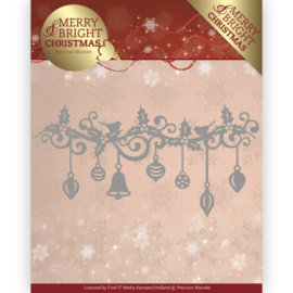 Precious Marieke Merry and Bright Christmas die Christmas garland PM10128