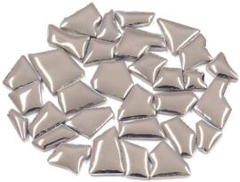 Flip keramische mini mozaïek zilver de luxe bakje à 65 gram