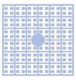 Pixelhobby matje 140 pixels nummer 114 babyblauw heel licht