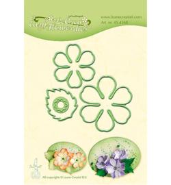 Leane Creatief Lea'bilities Easy Flower 002 snij en embossing dies (mal) 45.4568