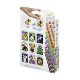 Pixelhobby medaillon set dieren