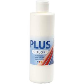 Plus Color acrylverf off white (gebroken wit) 39437 fles 250 ml