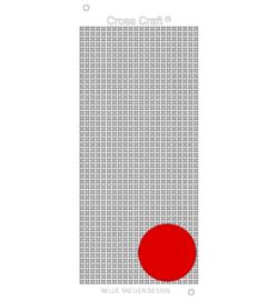 Nellie Snellen Design Cross Craft stickers dark red CRST022