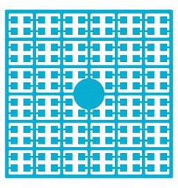 Pixelhobby matje 140 pixels nummer 198 turquoise