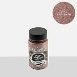 Cadence Dora Hybrid metallic verf 7147 antiek roze potje 90 ml