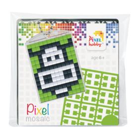 Pixelhobby Pixel mosaic medaillon startset koe sleutelhanger