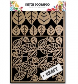 Dutch Doobadoo Craft Art A5 Leaves 2 (bladeren) 479.002.009