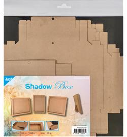 Joy!Crafts Shadow Box kraft 250 grams 3 stuks 8089/0270