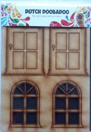 Dutch Doobadoo MDF door (deur) kleur geel/bruinachtig 465.655.002