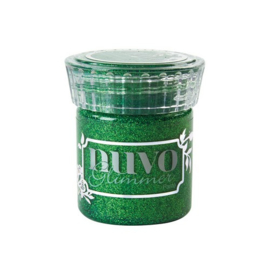 NUVO Glimmer Paste (pasta) emerald green potje à 50 ml