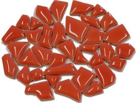Flip keramische mini mozaïek kersen rood bakje à 65 gram