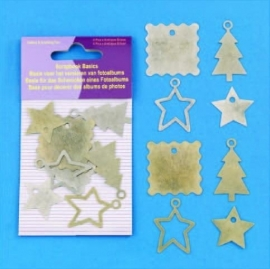 Hobby Crafting Fun decoratieve Kersthangers 3004