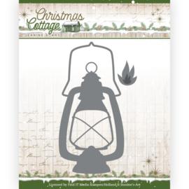 Jeanine's Art Christmas Cottage Lantern dies (mallen) JAD10137