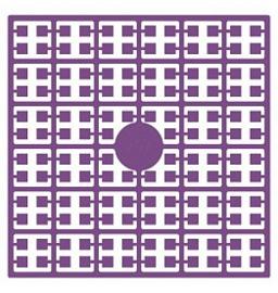 Pixelhobby matje 140 pixels nummer 207 violet donker