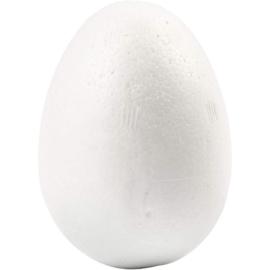 Styropor (piepschuim) eieren 6 cm hoog 5 stuks