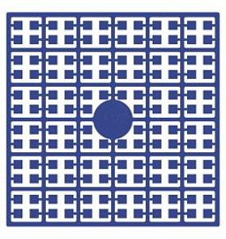 Pixelhobby matje 140 pixels nummer 110 korenbloemblauw donker