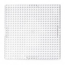 Pixelhobby basisplaat transparant klein 6 x 6 cm